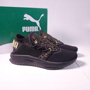PUMA Tsugi Shinsei Lace Shoe 366496-01 Black/Gold